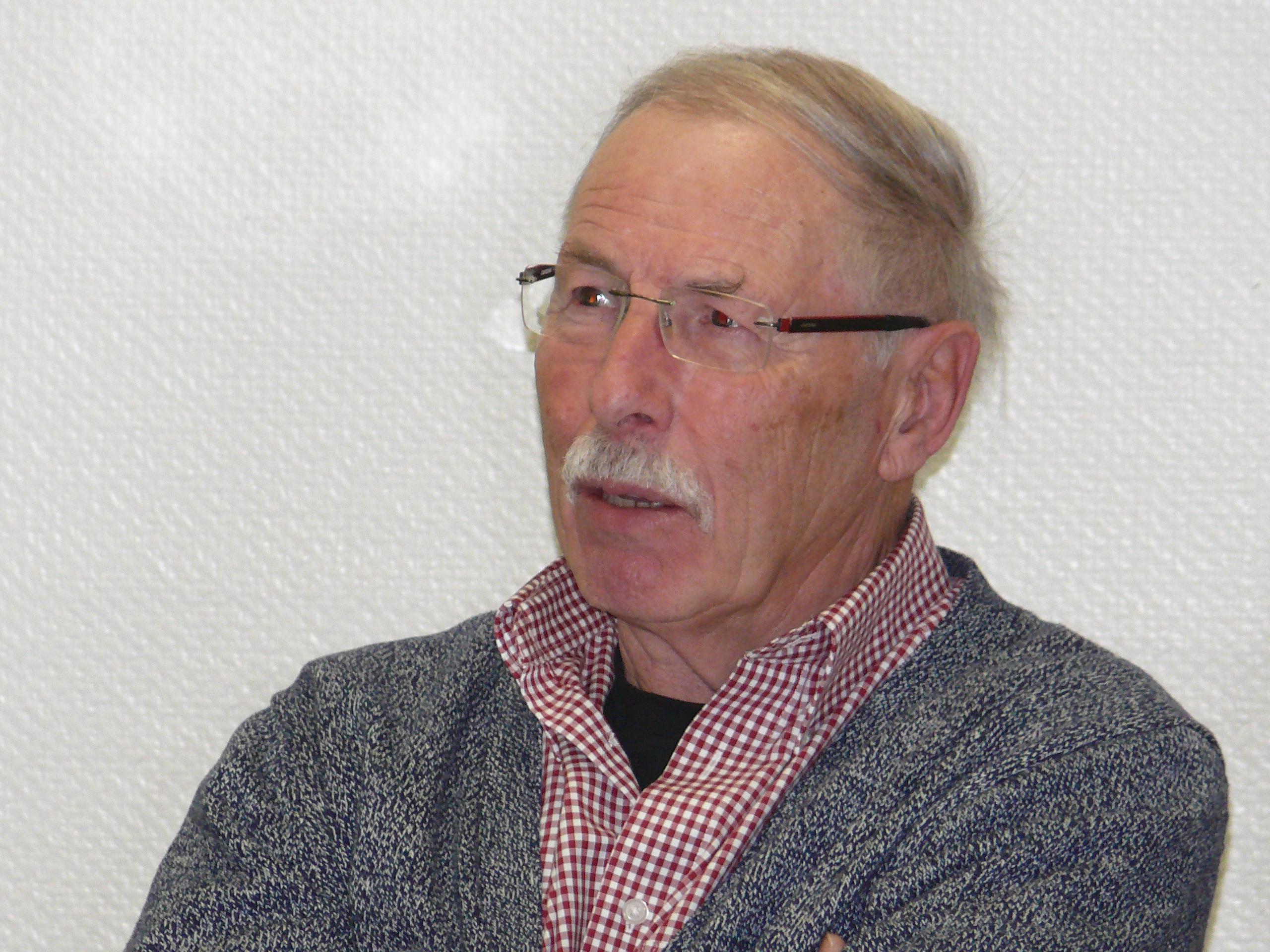 Stadtrat Hans Schlatter (SPD).