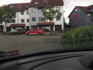 Kreuzung am Ahornplatz.