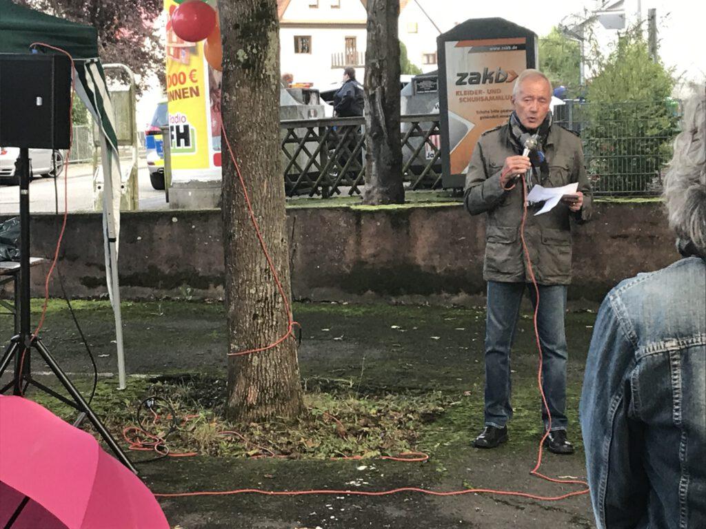 Der frühere Lampertheimer Bürgermeister Erich Maier.