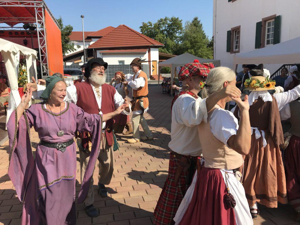 Der Historische Tanzkreis Bergstraße.