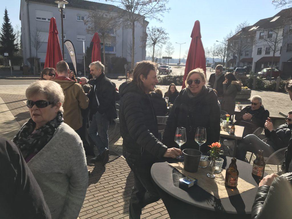 Andrang auf dem Ahornplatz.