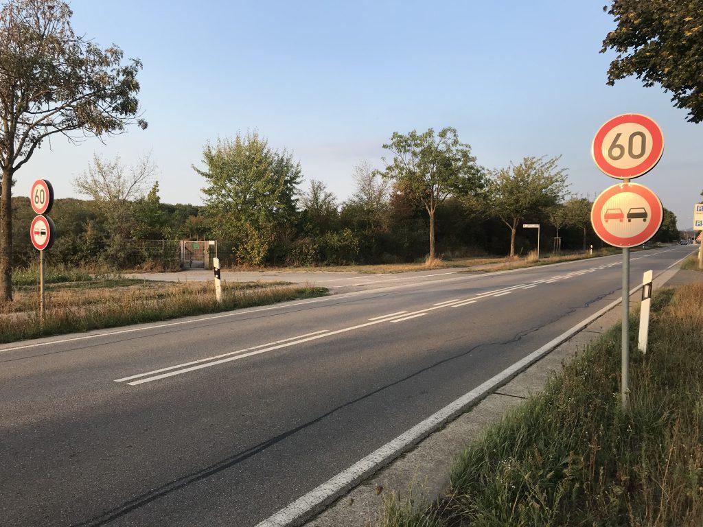 Die Landesstraße zwischen Neuschloß und Lampertheim muss saniert werden.